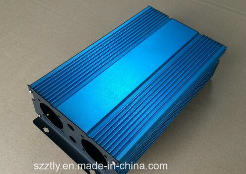 6063 Alloy Anodised Aluminium/Aluminum Extrusion for Power Charge pictures & photos