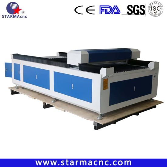 Jinan Factory Supply CO2 Laser Cutting Engraving Machine for Acrylic Wood Leather Fabric