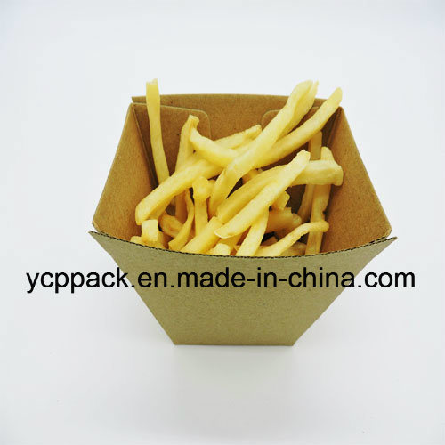 Disposable Food Packaging Corrugated Paper Fast Food Tray pictures & photos