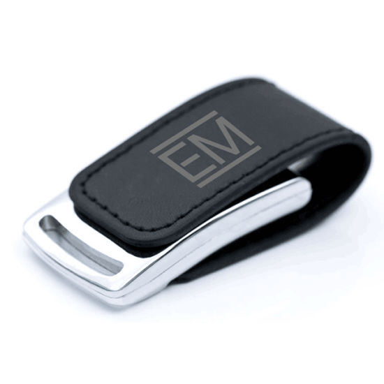 Custom Logo Thumb Drive Full Capacity Flash Memory 2.0 Cheap Leather USB Flash Memory Drives