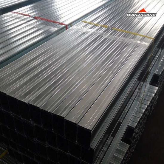 Hot Dipped Galvanized Steel Keel Gypsum Board Ceiling Main Channel
