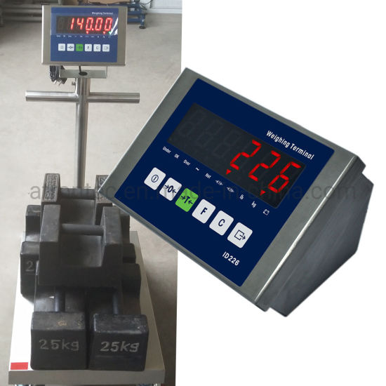 IP66 Stainless Steel Enclosure Weight Indicator with Red LED Display