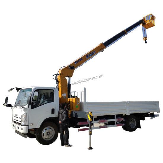 Japan 600p 700p Ftr Fvr Fvz 6.3tons 8tons 10tons Crane Truck Mounted Crane X C M G Unic Specifications Price