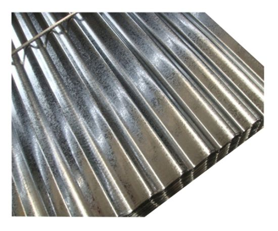Hot Dipped Iron Galvanized Gi Corrugated Zinc Roofing Sheet