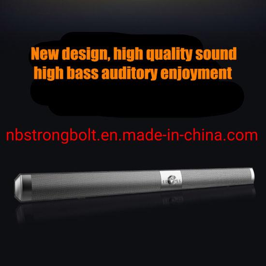 2019new Design Soundbar Manufacturer Loudspeaker Wireless Bluetooth High Power Home Theater S6 Customized Logo