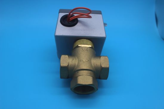 Two Port Plumbing Heating Electric Gate Zone Valve (HTW-V71) pictures & photos