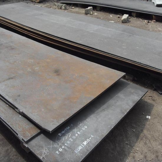 Low-Alloy and High-Strength Steel Plate Sm490A pictures & photos