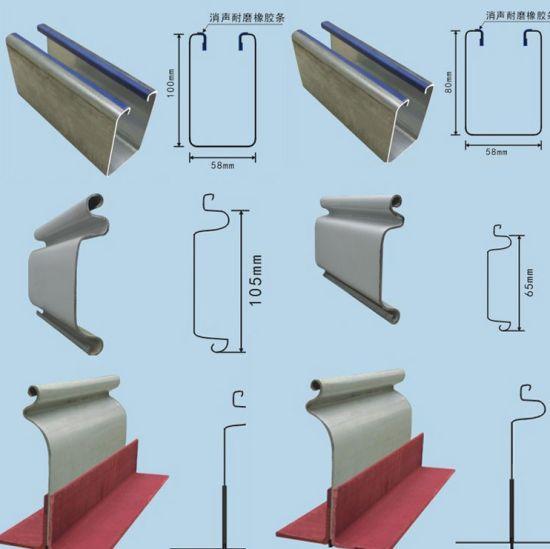 Steel Plate Roller Shutter Door Frame Cold Roll Forming Machine