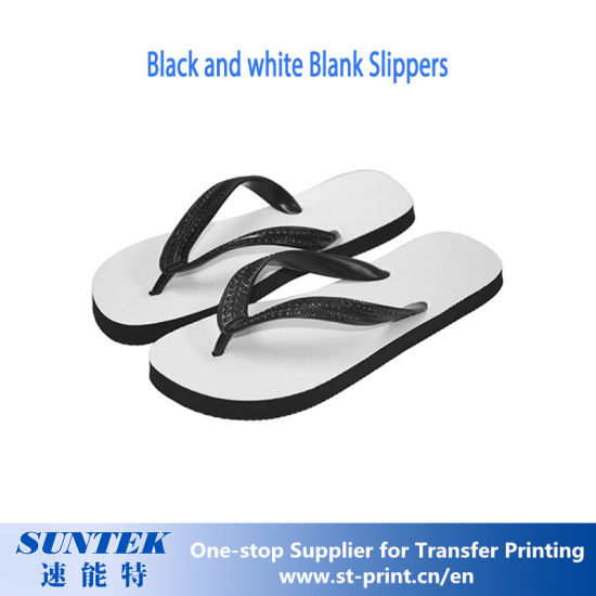 9d937367ea9a China 330 270 14.5mm Sublimation Black Blank Slippers - China Blank ...