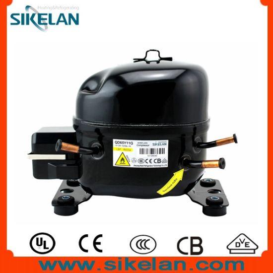 Freezer Compressor Model Qd65y11g R600A Gas 115V Compressor