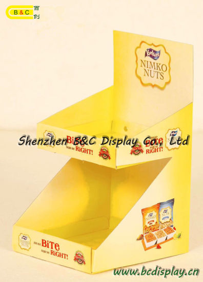 Special Stores Small Paper Display Box, Counter PDQ Display Box, PDQ (B&C-D060) pictures & photos