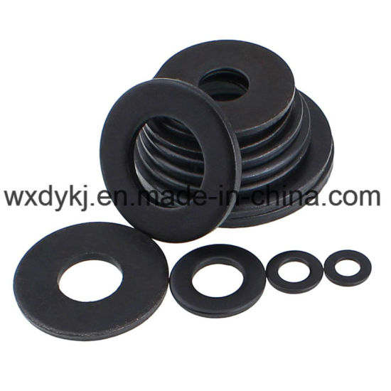 DIN 125 Carbon Steel Black Oxide Flat Washers