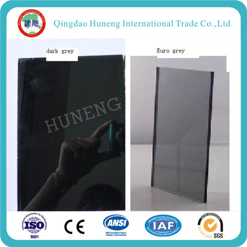 6mm Euro Grey Reflective Glass with Best Price pictures & photos