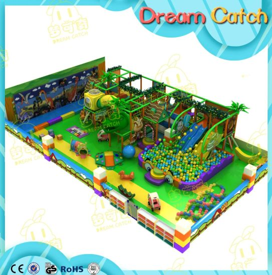 Luxury Children Maze Amusement Soft Equipment Indoor Playground with Ball Pool pictures & photos