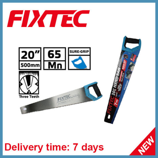"Fixtec 20"" Hand Saw Wood Hand Tool pictures & photos"