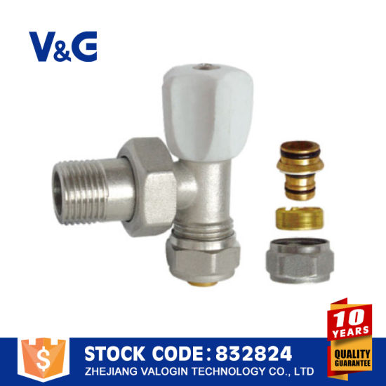 Beautiful Brass Radiator Valve in Pipe (VG-K13011) pictures & photos
