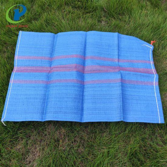 Blue PP Woven Bag Sack 50kg for Potato