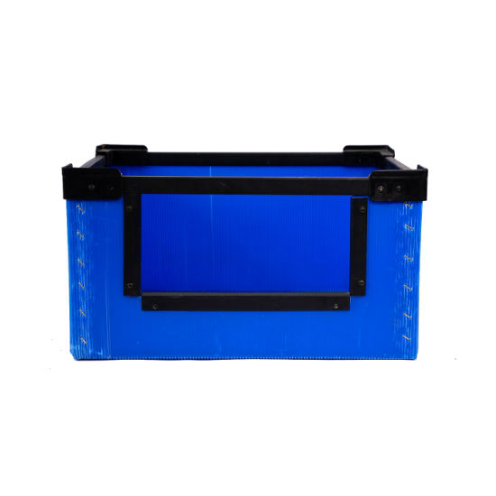 Folding Plastic Moving Box Foldable Plastic Storage Box Case