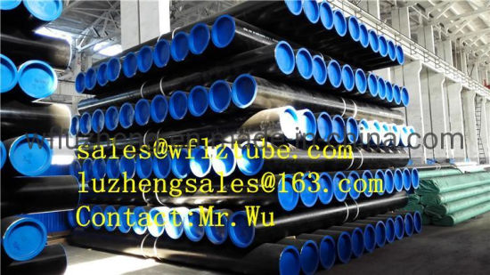 "Oil and Gas Steel Pipe API 5L Psl1 Psl2 X42 X46, Seamless Steel Pipe X52 6"" 8"" 10"" 12"" pictures & photos"