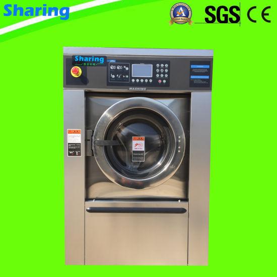 25kg Commercial Automatic Washing Machine Hotel Laundry Washing Equipment