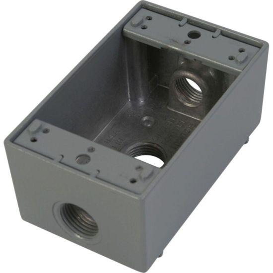 Sheet Metal Fabrication Weatherproof Underground Electrical Junction Metal Box