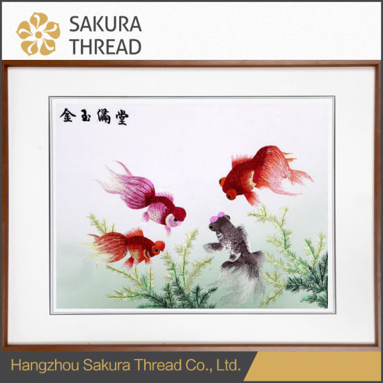 Chinese Blessings Embroidery Decor Painting for Home Decoration pictures & photos