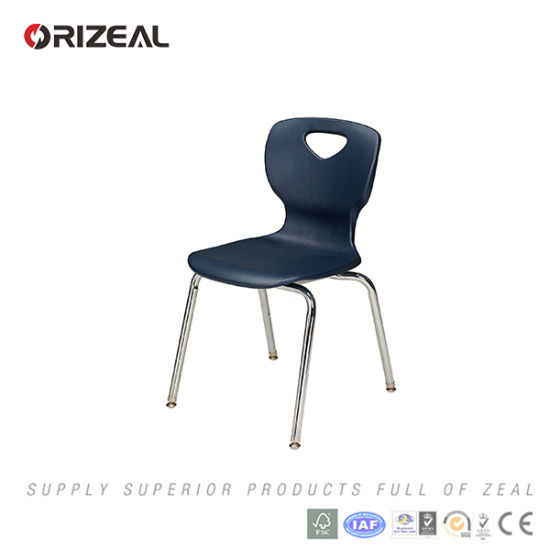 Orizeal School Furniture 2017 New Product Modern Plastic Classroom Chairs pictures & photos