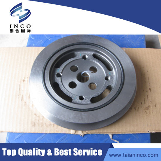 Dongfeng Truck Spare Parts 6CT Vibration Damper Auto Spare Parts