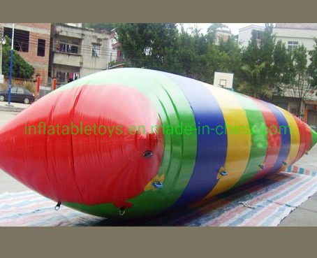 Inflatable Water Catapult Blob Inflatable Water Jumping Bag/ Inflatable Air Blast Blob