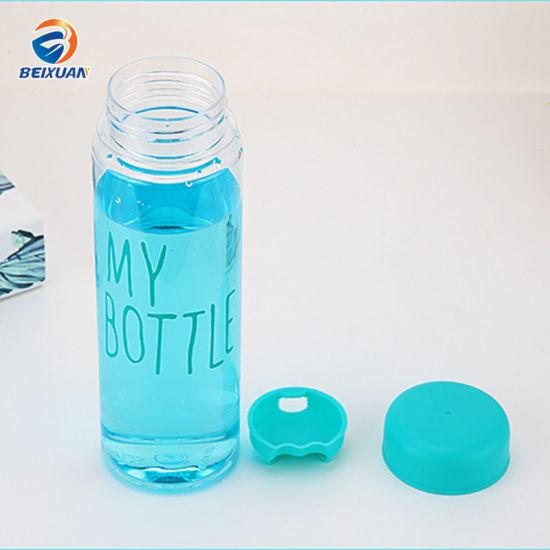 Hot Selling Korea Custom My Bottle Plastic 500ml PET Water Bottles