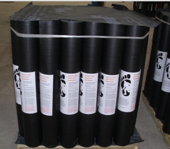 China Black Pa Asphalt Felt China Roofing Felt Building Paper