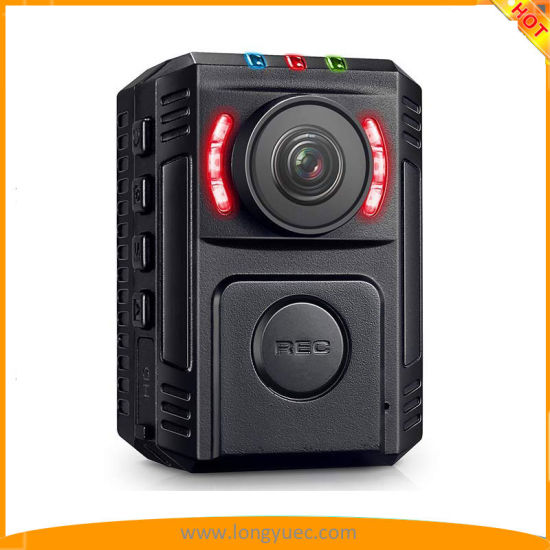 HD 1080P 128GB Wide Angle Ultra Police Security Body Worn Camera Infrared IR Recorder