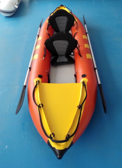 PVC Kayak Inflatable Canoe White Water Raft pictures & photos