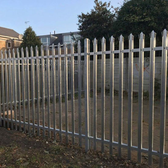 Wholesale Railings and Posts Steel Palisade Perimeter Security Fencing