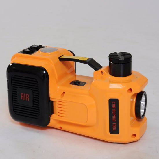 2 Functions Electric Hydraulic Car Jack with Air Compressor pictures & photos