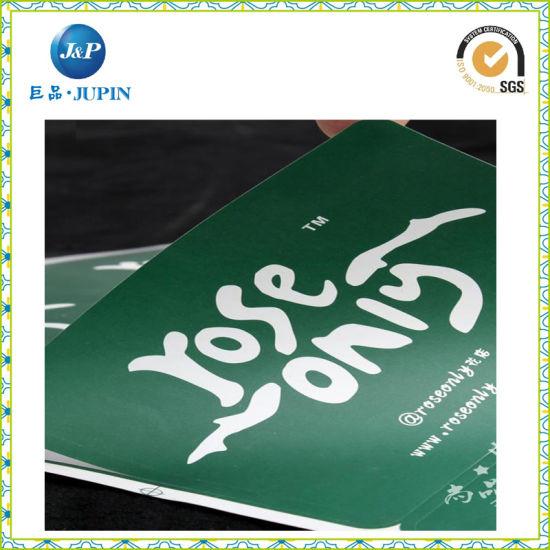 2016 customized logo adhesive sticker outdoor sticker vinyl die cut vinyl sticker jp s116