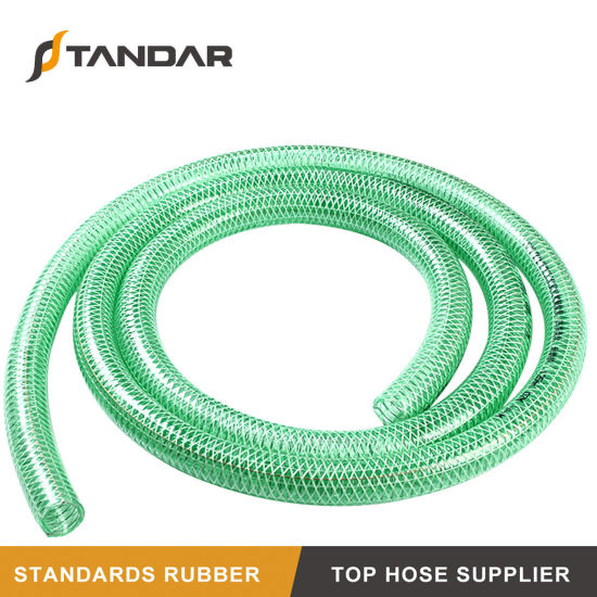 Anti-Aging Flexible Smooth Pressure PVC Spiral Steel Wire Anti-Static Hose
