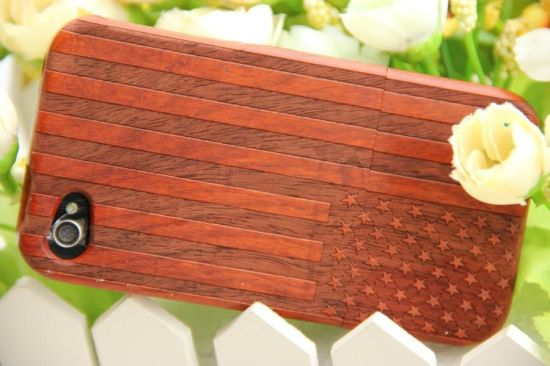 Pretty Red Wood Mobile Cover pictures & photos