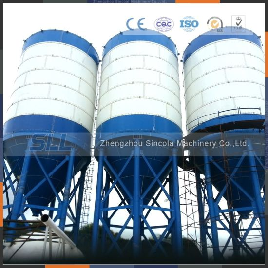 Concrete Batching Plant Used, 100 Ton Cement Silo for Sale pictures & photos