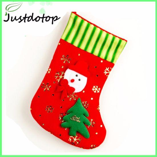 329ec9b3c China Personalised Christmas Santa Present Gift Sack Christmas ...