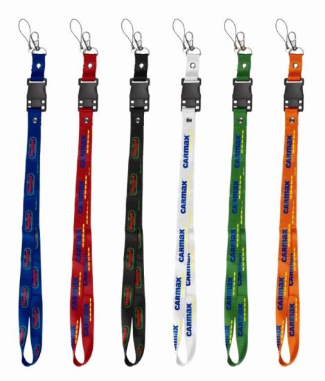 Hotsale Fashion Design Colorful Polyester Neck Lanyards with Custom Logo 49 pictures & photos