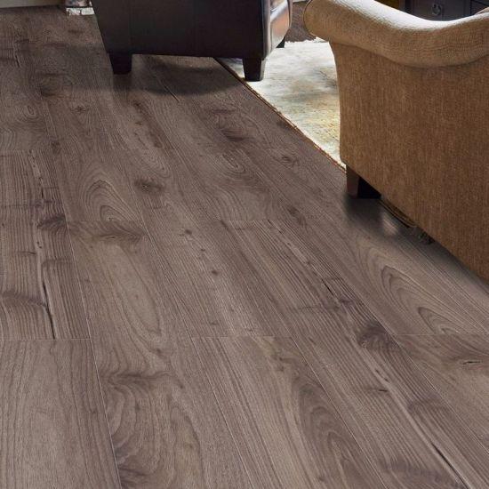 Antiwear Waterproof Environmental Non Deformation Realistic Wood Grain Laminate Flooring Board For Indoor Floor Decoration
