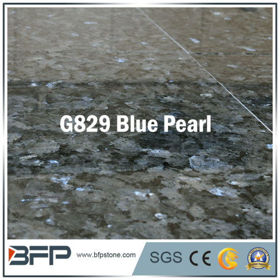 Polished Blue Pearl Half Slab Granite for Tile pictures & photos