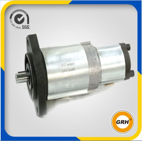 High Pressure Double Pump Hydraulic Gear Oil Pump for Tractor, Forklift