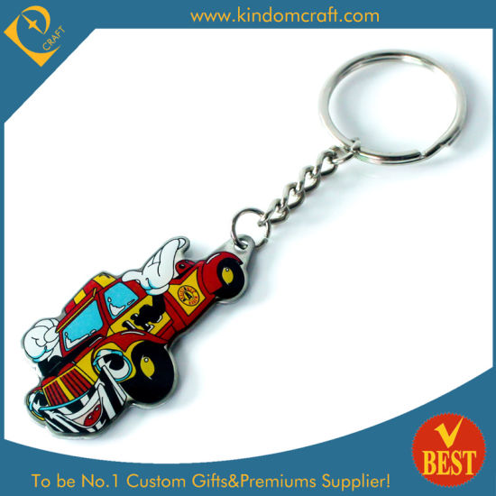 China Wholesale Metal Car Shape Key Ring at Factory Price with High Quality pictures & photos