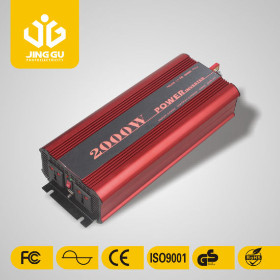 2000W Pure Sine Solar Power Inverter 12V/24V to 220VAC for House and Car pictures & photos