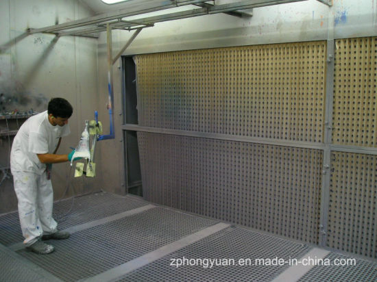 Dry Filter Paint Booth with Exhaust Fan for Small Part