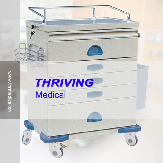 Medical High Quality Anesthesia Trolley (THR-ZY104) pictures & photos