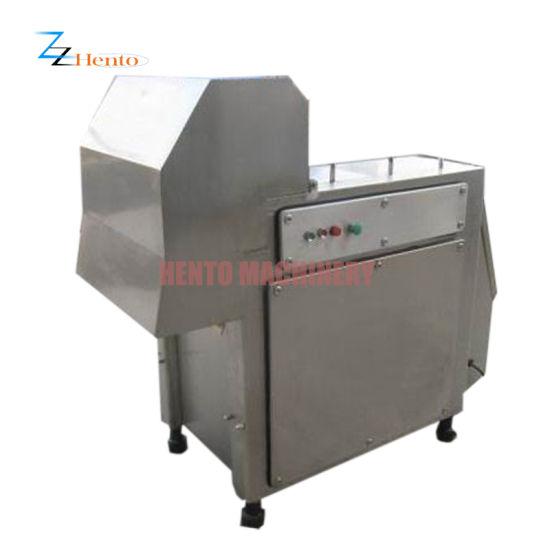 Automatic Frozen Meat Cube Meat Block Cutter