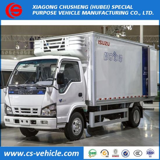 c1291b9456 China 4X2 3 Tons Isuzu Refrigerated Truck for Frozen Meat and ...